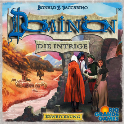 Cover Dominion: Die Intrige
