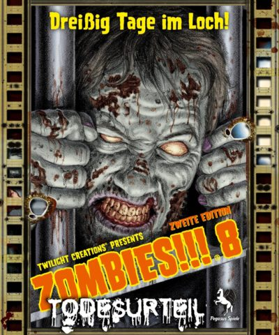 Cover Zombies!!!: 8 / Todesurteil