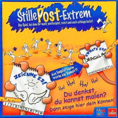 Cover Stille Post Extrem
