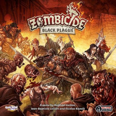 Cover Zombicide: Black Plague