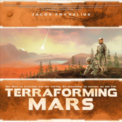 Cover Terraforming Mars