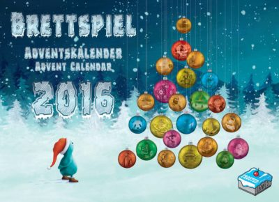 Cover Brettspiel Adventskalender 2016