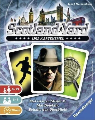 Cover Scotland Yard: Das Kartenspiel