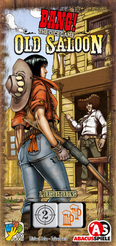 Cover BANG! The Dice Game: Old Saloon
