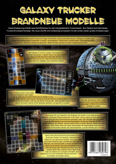 Cover Galaxy Trucker: Brandneue Modelle