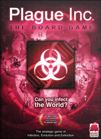 Cover Plague Inc: The Board Game