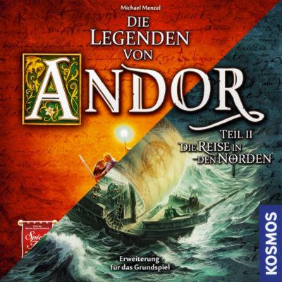 Cover Die Legenden von Andor & Die Reise in den Norden (Bundle)