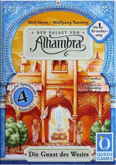 Der Palast von Alhambra: Die Gunst des Wesirs