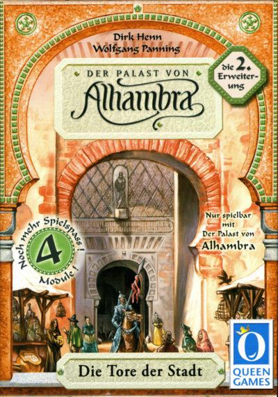 Der Palast von Alhambra: Die Tore der Stadt
