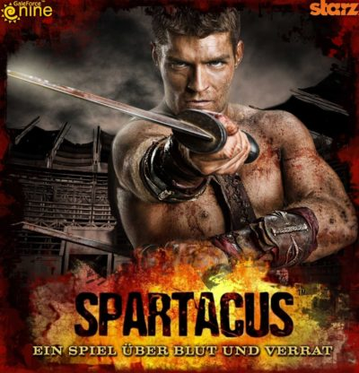 Cover Spartacus: Ein Spiel über Blut und Verrat