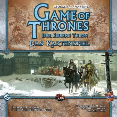Cover Der Eiserne Thron (Das Kartenspiel) / 1. Edition