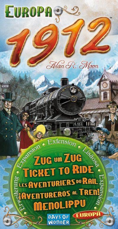 Zug um Zug Europa: 1912