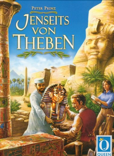 Cover Jenseits von Theben