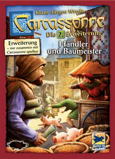 Cover Carcassonne: Händler und Baumeister (2. Edition)