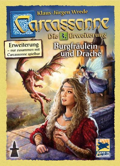 Carcassonne: Burgfräulein und Drache (2. Edition)