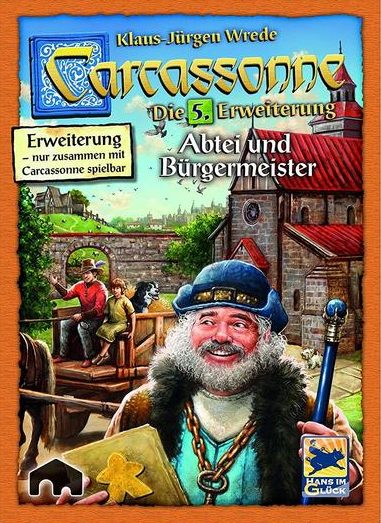 Carcassonne: Abtei und Bürgermeister (2. Edition)