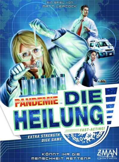 Cover Pandemie: Die Heilung
