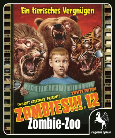 Cover Zombies!!!: Zombie Zoo