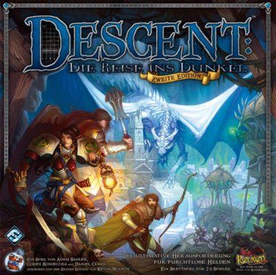 Cover Descent: Die Reise ins Dunkel (Zweite Edition)
