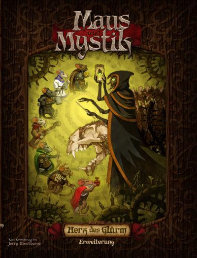 Cover Maus und Mystik: Herz des Glürm