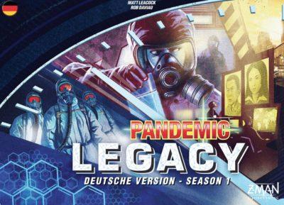Pandemic Legacy: Season 1 / Blau
