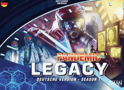 Cover Pandemic Legacy: Season 1 / Blau