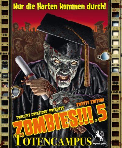 Zombies!!!: Totencampus