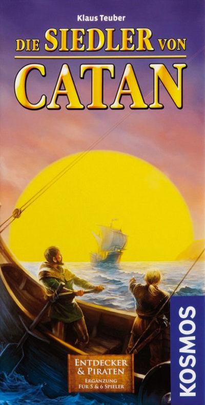 Catan: Entdecker & Piraten (5-6 Spieler Erweiterung)