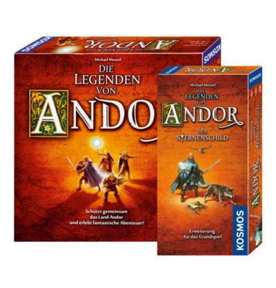 Die Legenden von Andor & Der Sternenschild (Bundle)