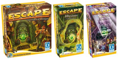 Escape & Illusions & Quest (Bundle)