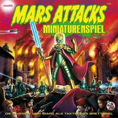 Mars Attacks Miniaturenspiel Deluxe