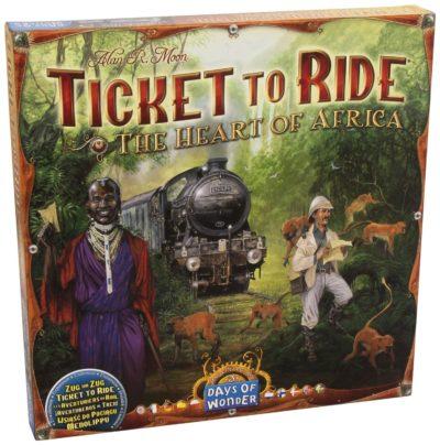Zug um Zug: Im Herzen Afrikas