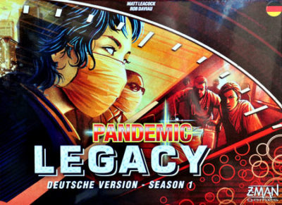 Cover Pandemic Legacy: Season 1 / Rot
