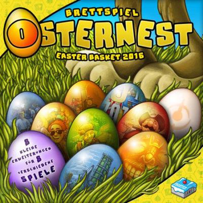 Das Brettspiel Osternest 2016