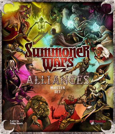 Cover Summoner Wars: Alliances Master Set