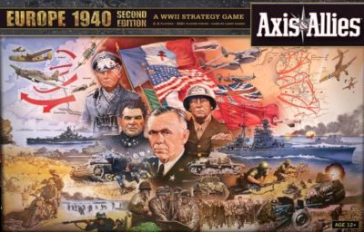 Cover Axis & Allies Europe 1940