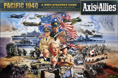 Cover Axis & Allies Pacific 1940