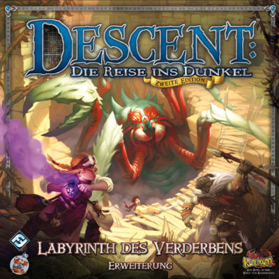 Descent (Zweite Edition): Labyrinth des Verderbens