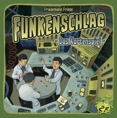 Cover Funkenschlag: Das Kartenspiel