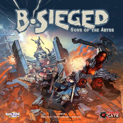 Cover B-Sieged: Sons of the Abyss