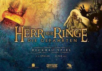 Cover Der Herr der Ringe: Die Gefährten (Deckbauspiel)