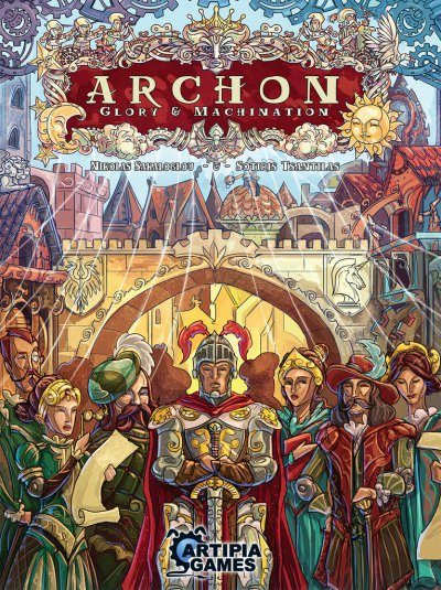 Cover Archon: Glory & Machination