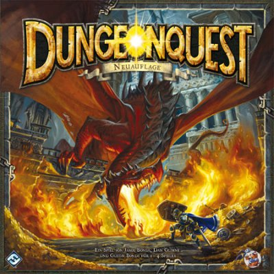 Cover Dungeonquest (Neuauflage)