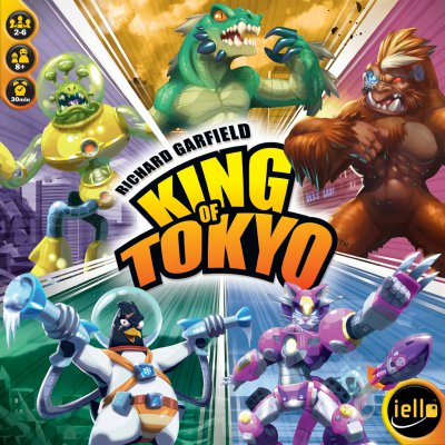 Cover King of Tokyo (2. Edition)