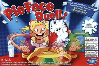 Cover Pie Face Duell