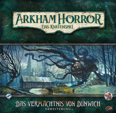 Cover Arkham Horror: Das Kartenspiel – Das Vermächtnis von Dunwich