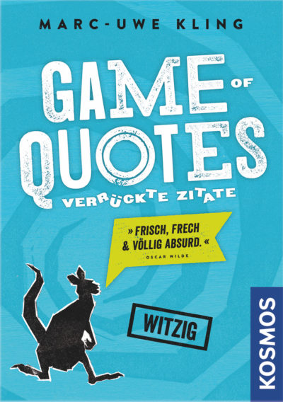 Cover Game of Quotes – Verrückte Zitate