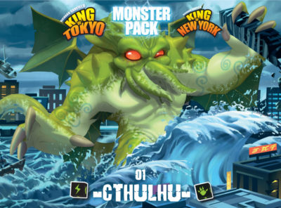Cover King of Tokyo: Monster Pack – Cthulhu