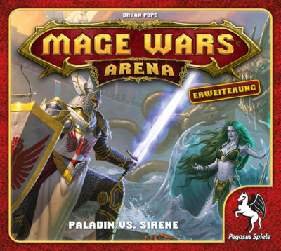 Mage Wars Arena: Paladin vs. Sirene