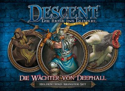 Cover Descent (Zweite Edition): Die Wächter von Deephall
